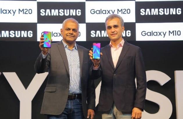 인도에서 출시된 '갤럭시 M20' (자료 삼성전자 인도법인)