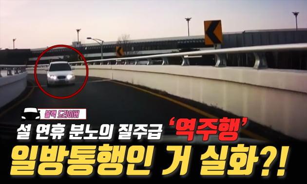 블랙 드라이버 | '분노의 역주행' 여기 일방통행인 거 맞지?!