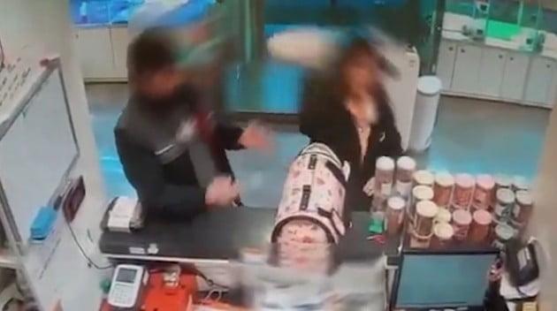 """말티즈 던진 여성 """"죽을 줄은 몰랐다"""" CCTV"""