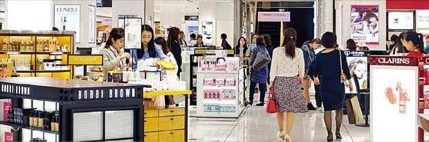 백화점만 살았다…롯데쇼핑, 마트·슈퍼 부진에 영업익 25%↓