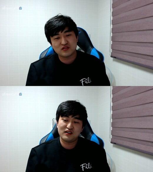 이영호/사진=이영호 개인 방송 영상 캡처