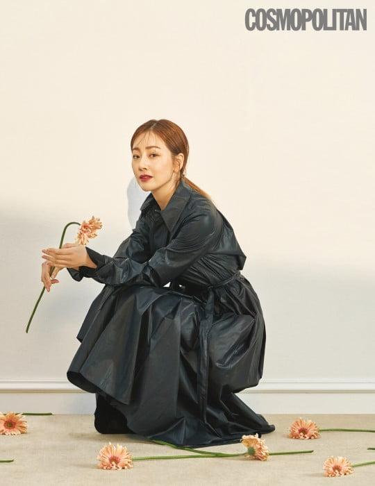 오나라 김도훈 열애 고백/사진=코스모폴리탄