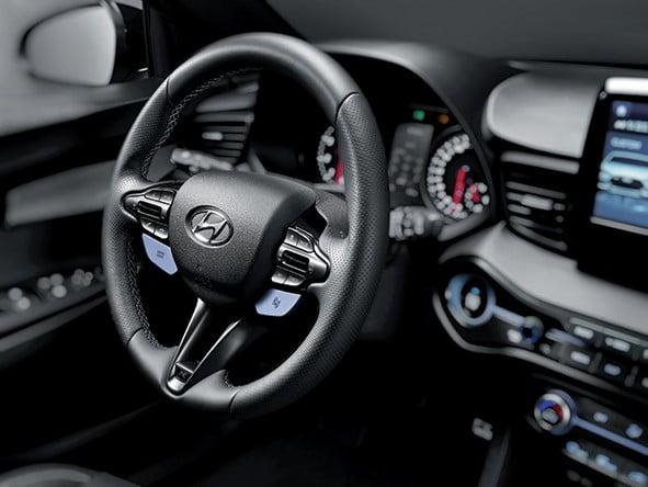 현대자동차가 선보인 고성능 브랜드 N의 '벨로스터 N' / 사진=현대차
