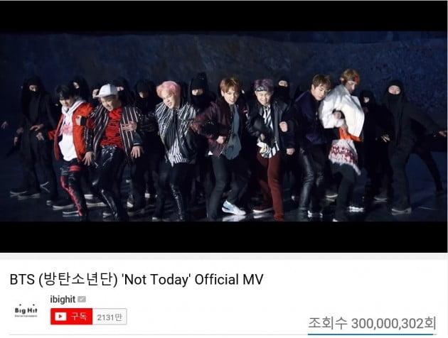 방탄소년단 'Not Today' [사진=빅히트 엔터테인먼트 제공]