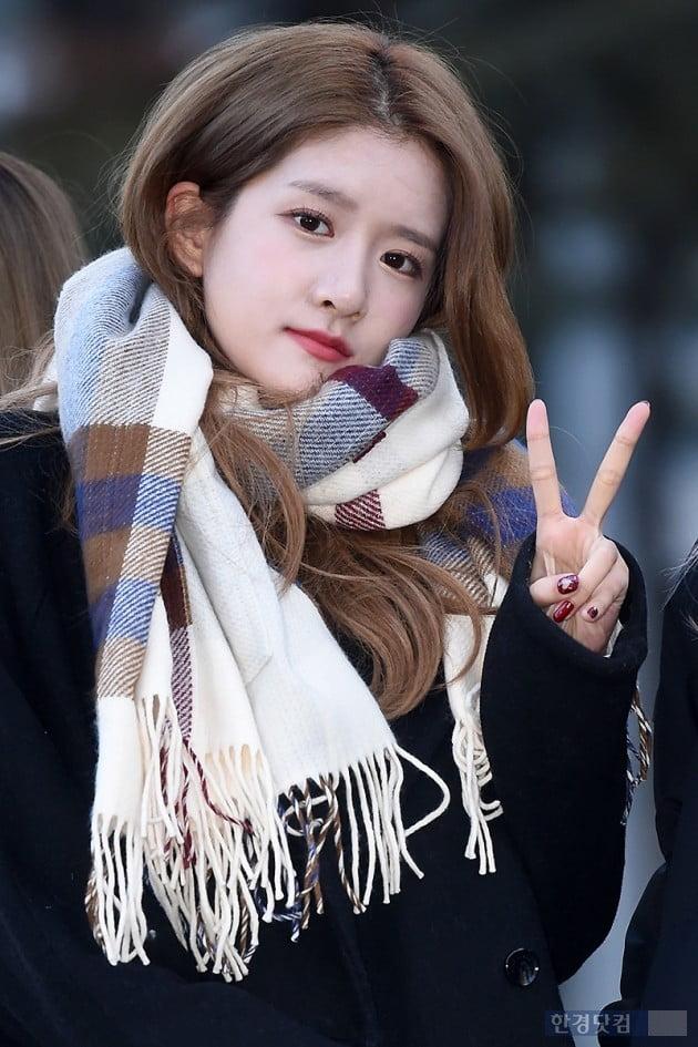 [포토] 우주소녀 엑시, '귀엽게 브이~'