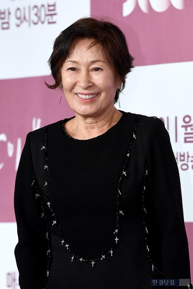 [포토] 김혜자, '소녀같은 미소'