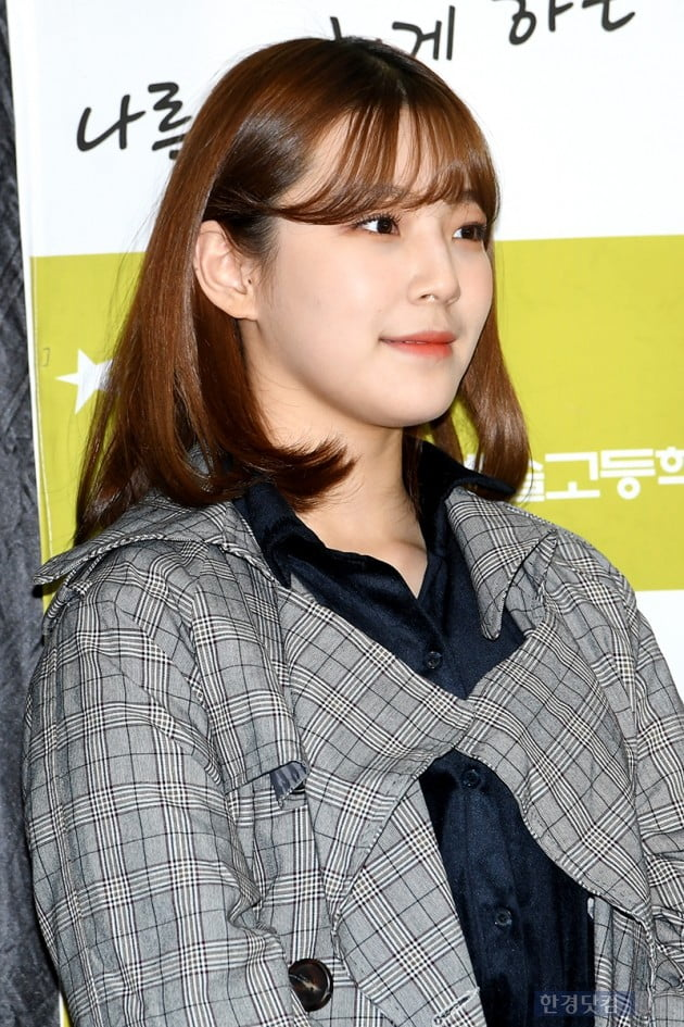[포토] 프로미스나인 백지헌, '사랑스러워~'