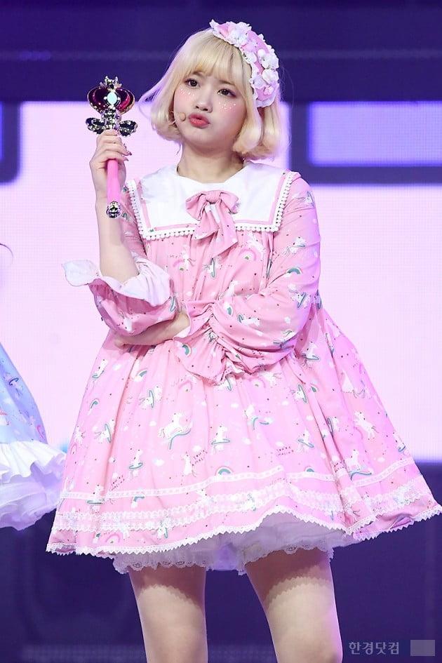 [포토] 그레이시 신영, '입술 삐쭉 내밀고 귀엽게~'