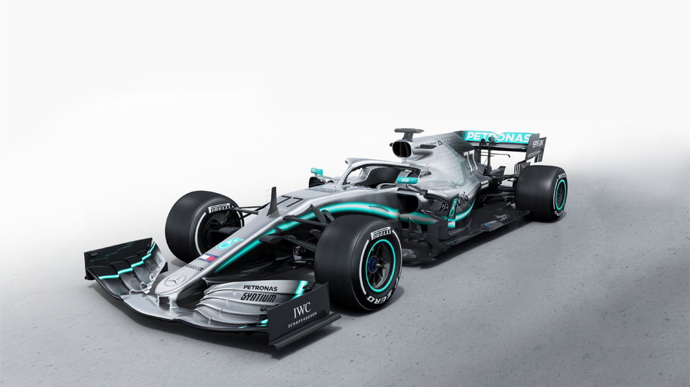 AMG페트로나스, 2019 시즌 달릴 F1 머신 선봬