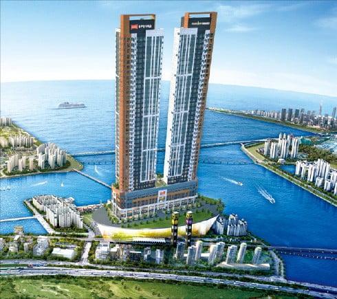 시흥월곶역 블루밍 더마크