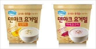 '양반죽' 19년째 국내 죽시장 점유율 1위…'덴마크 요거밀' 요거트에 통곡물이 가득