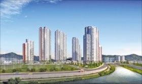 안양호계 두산위브, 평촌 생활권…인근에 1·4호선 금정역