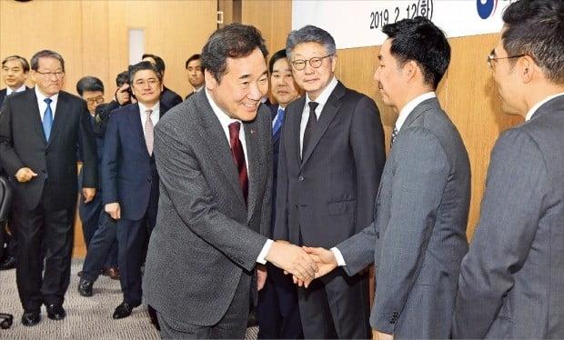 중견기업인들 만난 이낙연 총리