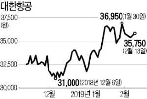 [마켓인사이트] '경영참여' 공세에도…한진그룹, 예정대로 자금조달 나선다