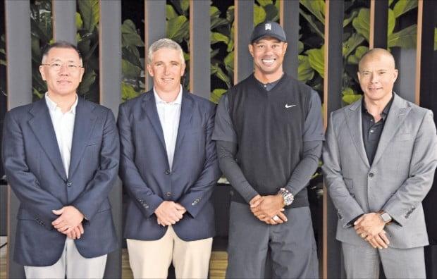 정의선의 스포츠 마케팅…PGA '제네시스 오픈' 한 단계 격상