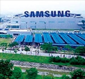 하노이 인근 박닌성의 삼성전자 스마트폰 공장.