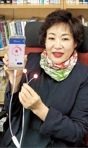 """박경준 칼라세븐 대표 """"빛으로 생리통 치료, 치매도 예방해요"""""""