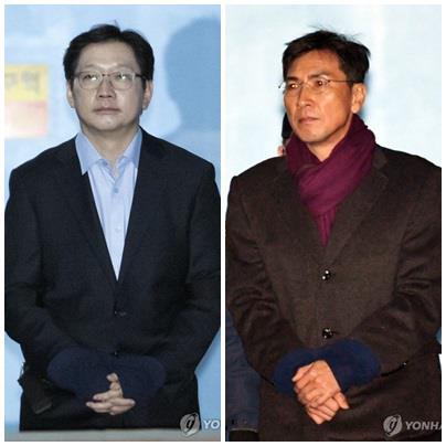 김경수 이어 안희정도…서초동에 부는 '법정구속' 한파