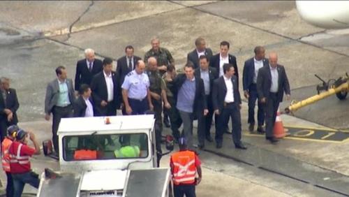 브라질 보우소나루 18일 만에 퇴원…브라질리아로 복귀