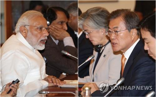 """한·인도 22일 정상회담…""""한국 신남방·인도 신동방 정책 협력"""""""