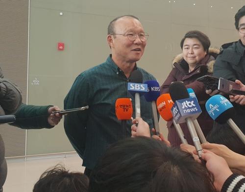 """'쌀딩크' 박항서의 다음 도전…""""올림픽 1차 예선 통과에 집중"""""""