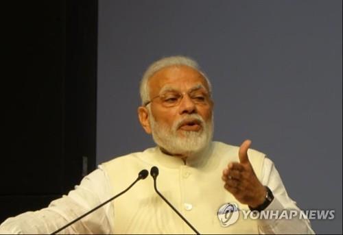 """모디 총리 """"인도 인프라 수요 어마어마해…한국 기업, 오라"""""""
