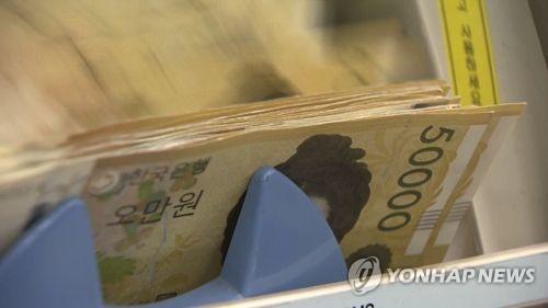 시중 5만원권 100조원 눈앞…유통 지폐 3장 중 1장꼴
