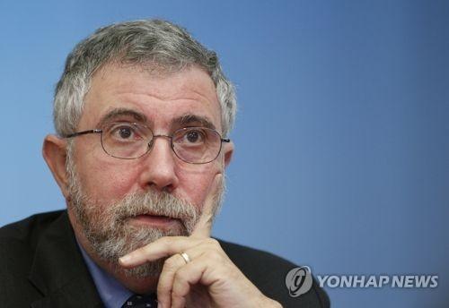 """크루그먼 """"올해말 글로벌 경기침체 가능성…유로존 가장 우려"""""""