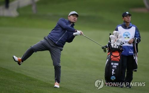 '낚시꾼 스윙' 최호성, PGA 투어 2R서 3타 잃고 공동 128위