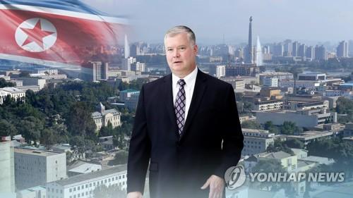 """비건, 아직 평양에 있다…靑 """"김정은-비건 면담 여부는 몰라"""""""