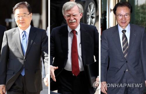 """교도 """"한미일 안보수장 24일 부산서 회동…北비핵화 논의"""""""