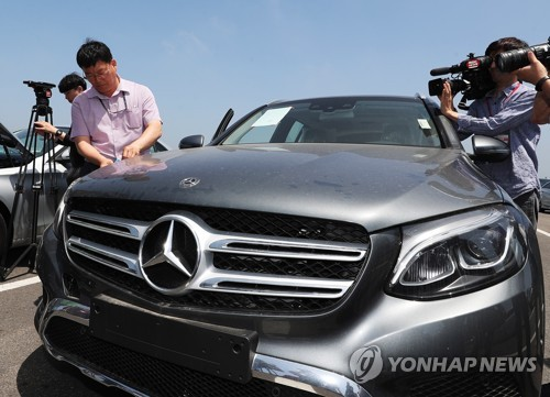'무한질주' 벤츠, 1월 내수 4위…르노삼성·한국지엠도 따돌려