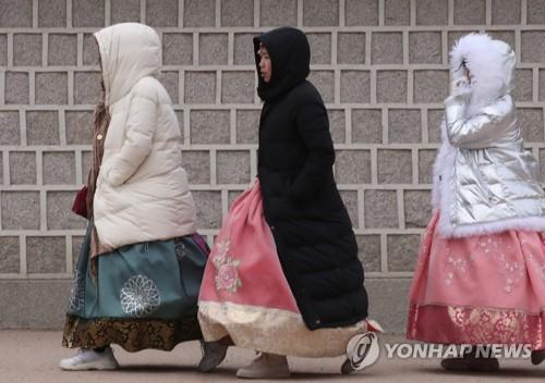 '서울 -6도' 맑고 추운 아침…낮부터 평년 기온 회복