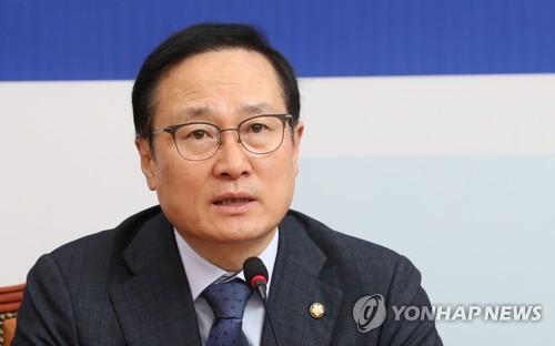 """홍영표 """"한국당 '망언 3인방' 당윤리위 제소 물타기…국회 추방"""""""