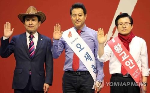 첫 TV토론 승자는 누구…황교안·오세훈·김진태 토론준비 주력