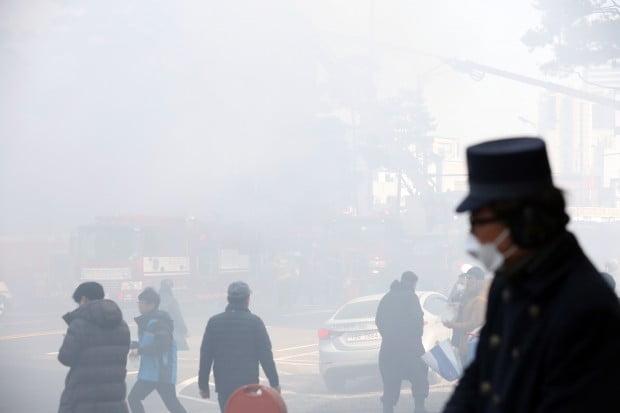 을지로 화재 /사진=연합뉴스