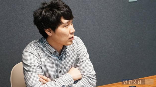 한경닷컴과 인터뷰하는 이동주 부스트 대표(사진=김산하 기자)