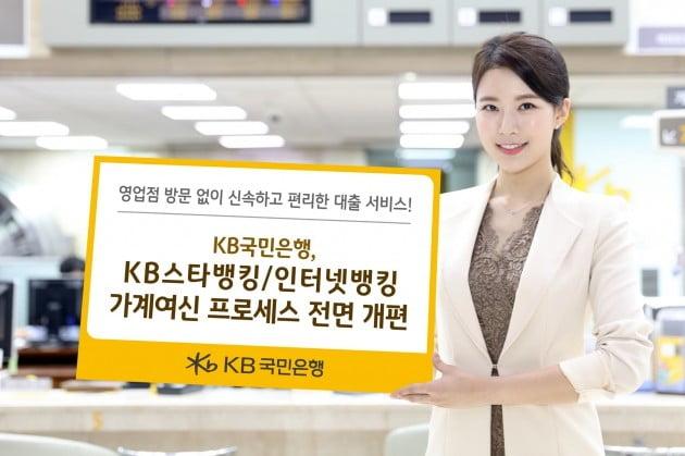 KB국민은행, 비대면 전용 신용·전세대출 신상품 출시
