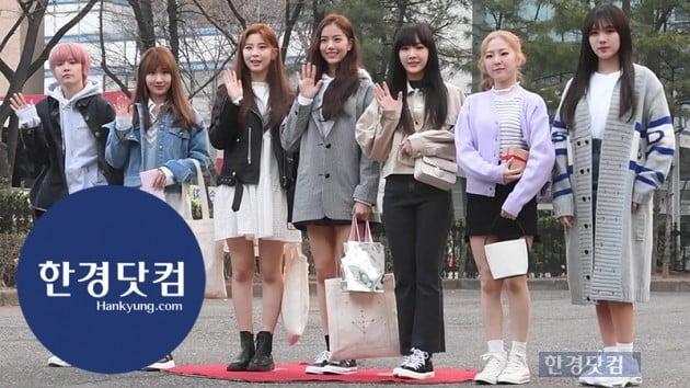 [HK영상] 공원소녀, 예쁘고~귀엽고~사랑스럽고~…'다 가진 소녀들~' (뮤직뱅크 출근길)