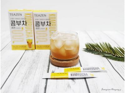 티젠, 할리우드 스타들의 건강음료 '콤부차' 분말스틱 출시