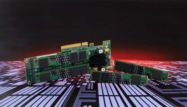 SK하이닉스가 시연에 성공한 차세대 ZNS SSD.