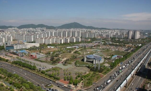 경기 부천영상문화산업단지가 건립될 부지 전경. 부천시 제공