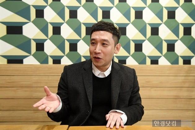 지난달 21일 서울 여의도 카페에서 전업투자자 김진수 씨를 만났다. (사진 = 최혁 한경닷컴 기자)