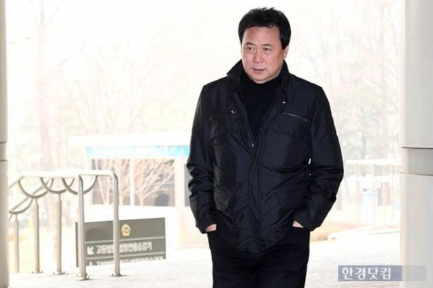 [포토] 김창환, '아동복지법위반 법원 출석'