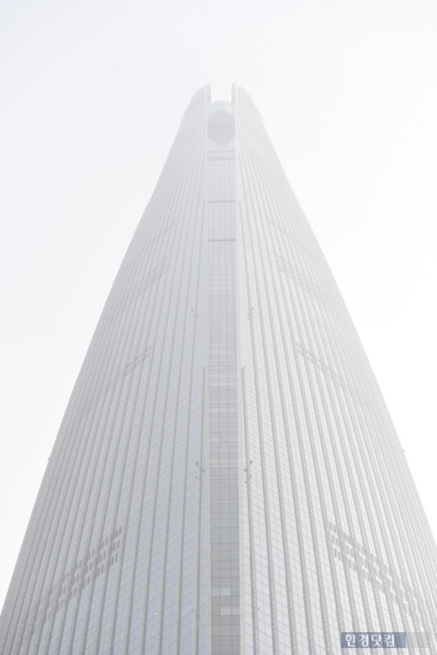 [포토] 미세먼지에 뿌연 서울 하늘