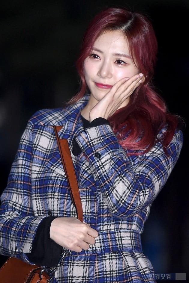 [포토] 드림캐쳐 지유, '눈부신 예쁨~'