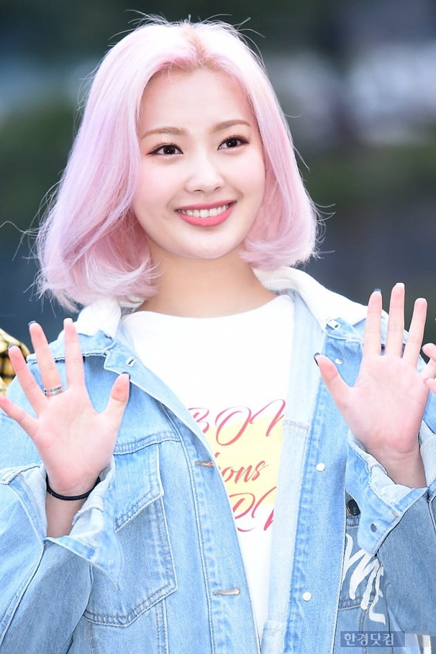 [포토] 드림노트 미소, '눈길 사로잡는 예쁜 미소~'