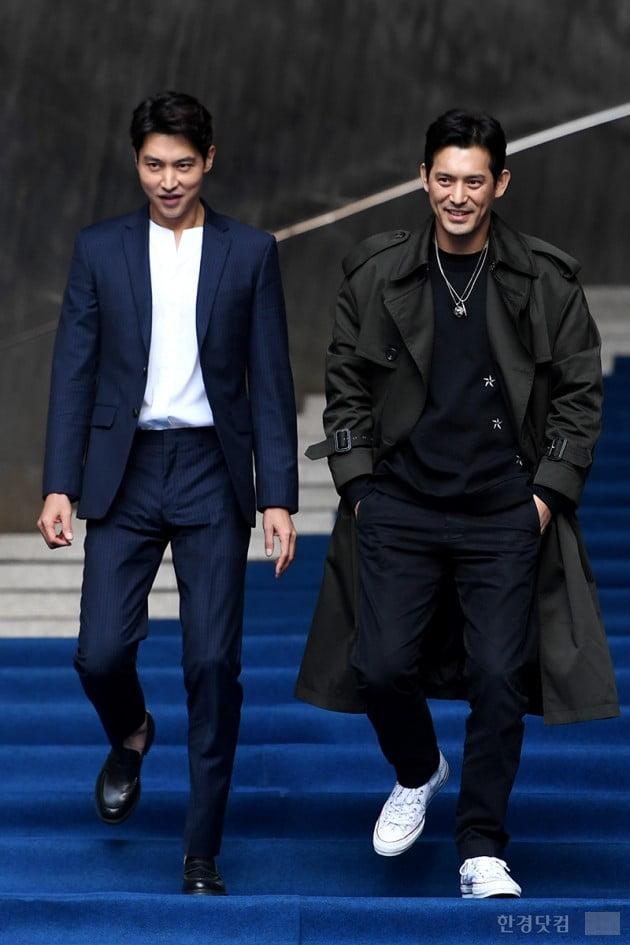 [포토] 송종호-오지호, '상남자들의 런웨이' (2019 F/W 서울패션위크)