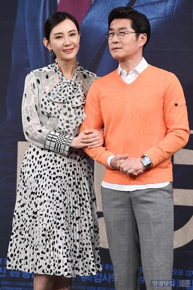 [포토] 채시라-김상중, '다정한 모습에 눈길~'