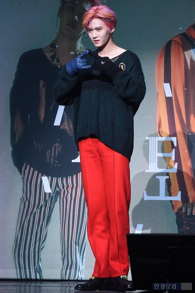 [포토] 펜타곤 옌안, '빨간 바지도 멋지게 소화'